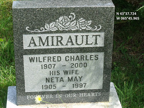 Amirault, Wilfred Charles (famille)