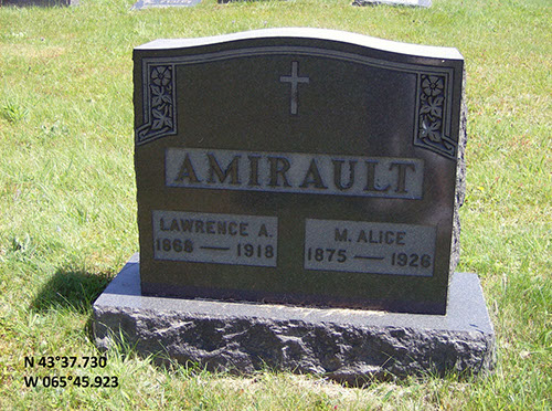Amirault, Lawrence A. (famille)