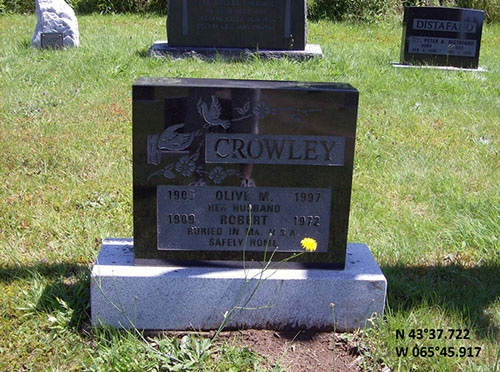 Crowley, Olive M. (famille)