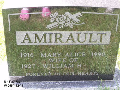 Amirault, Mary Alice (famille)