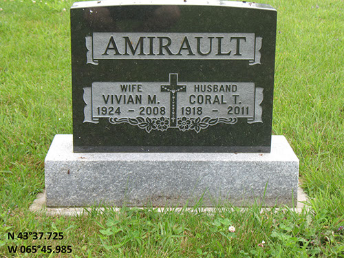 Amirault, Coral T. (famille)