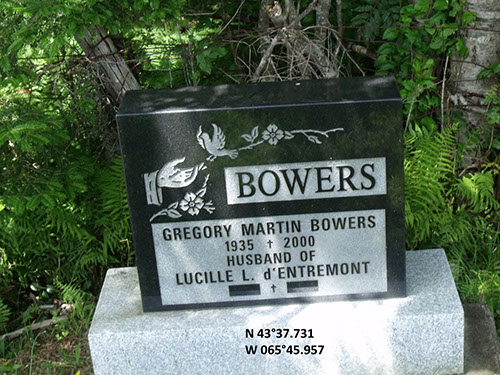 Bowers, Gregory Martin