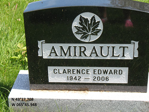 Amirault, Clarence Edward