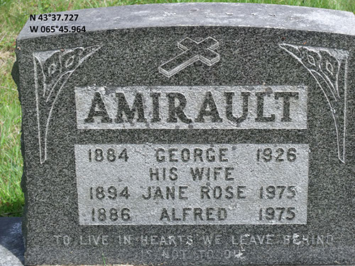 Amirault, George (famille)