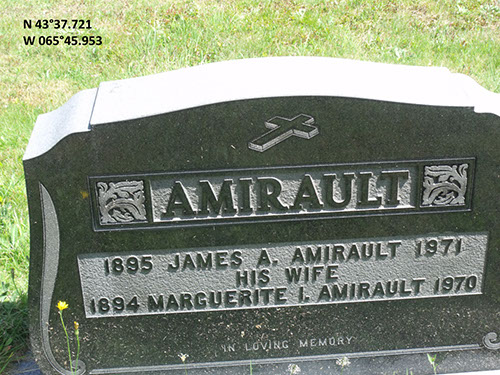Amirault, James A. (famille)