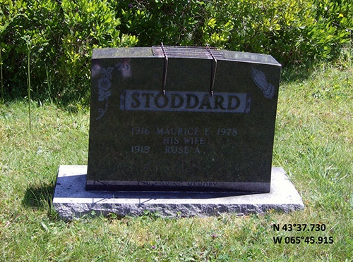 Stoddard, Maurice (famille)