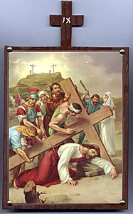 Seventh Station. Jesus Falls a Second Time.
